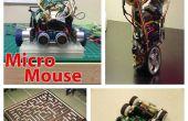 Solveur de labyrinthe avec Arduino et ArduMoto(Micromouse) V:1.1