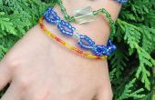 Bracelets de perles de verre