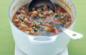 Soupe de légumes haricots rouges