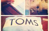 DIY TOMS oreiller