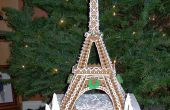 Tour Eiffel en pain d'épice