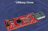 USBASP programmation un ATMega328P avec une horloge interne 8MHz