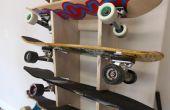 Présentoir de skateboard