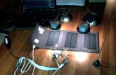 Émetteur QRP simple solaire