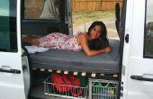 Lit pliable de Camper Van