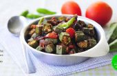 Le délicieux : Bhindi Fry