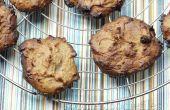 Végétalien sans gluten triple coco amande beurre biscuits tendres !