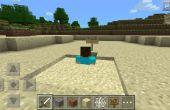 Comment construire un piège à sable rapide dans Minecraft
