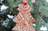 Étiquette de cadeau/décoration d'arbre