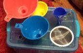 Vidange de filtre/entonnoir huile bricolage