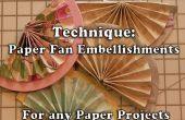 Les Fans comment faire moitié papier pour l'artisanat