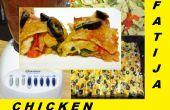 Enchiladas de poulet Fajita