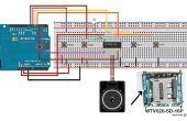 Comment utiliser WTV020SD - 16p avec Arduino