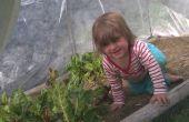 Cerceau maisons - jardinage tout au long de l'année en Nouvelle Angleterre.