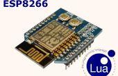 WiFiBee (ESP8266) LED clignotent LUA ESPlorer