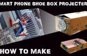 Comment faire le Smartphone écran projecteur avec une boîte à chaussures