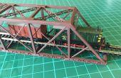 Construire un modèle d'échelle 1: 160 (N) d'un pont de chemin de fer de poutre