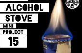 Mini projet #15 : Alcool Mini poêle