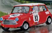 Knex Colin macrae Mini cooper Rallye voiture.
