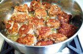 Boulettes de viande « ITALIAN STYLE »