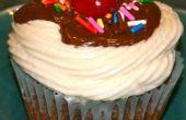Triple chocolat Cupcakes Sundae