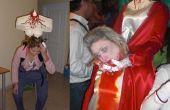 Maria Antonieta Decapitada Headless Costume SIN cabeza deguisement tenerife original