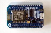 ESP8266 et Visuino : Scanner de réseau Wi-Fi