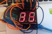 Minuterie de compte à rebours Arduino simple 7 segment