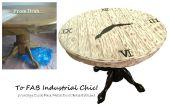 BRICOLAGE Table Chic industrielle Transformation !