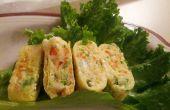 Comment faire des coréen egg roll