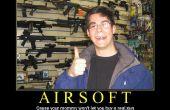Un guide complet airsoft : débutant / niveau d'entrée.