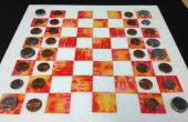 Ensemble d'échecs/Checker de vestige/carreaux de marbre et du ruban adhésif... Choisissez votre couleur !