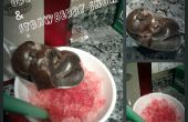 Truffes Oreo & fraise cône de neige
