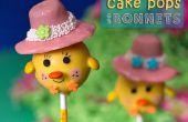 Poulet Cake Pops avec Bonnets