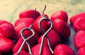 Comment faire des boucles d'oreilles de vieux résolu le puzzle de fil