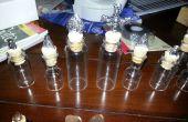 Pièces d'échecs de flacons de médicaments