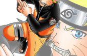 Fête d'anniversaire sur le thème de Naruto