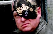 Masque d'Halloween cyborg 1/4