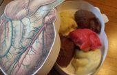 Coeurs chocolat anatomiques (votre Unique Valentine, PT. 2)