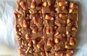 Bonbons maïs et bretzels Fudge
