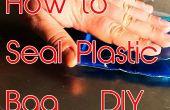 Sceller le sac en plastique à la maison