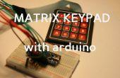 Comment utiliser un clavier de matrice avec Ardunio