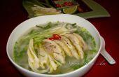 Recette de soupe de nouilles Pho poulet (Pho Ga)