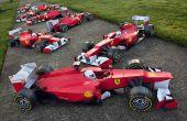 Ferrari F1 - Papercraft Racer