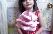 DIY géant papier Rose