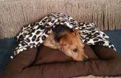 Lit avec couverture amovible pour chien