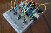 Arduino Combi-bouton de verrouillage w / prise en charge facultative iOS/Android