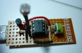 USB-veilleuse (capteur de lumière LM385)