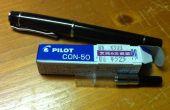 Remplacer la cartouche de stylo plume pour convertisseur