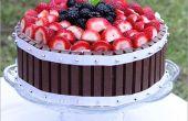 Gâteau aux fruits Kit Kat